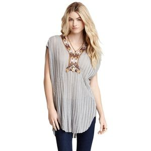 FREE PEOPLE Herringbone Stripe Paradise Tunic